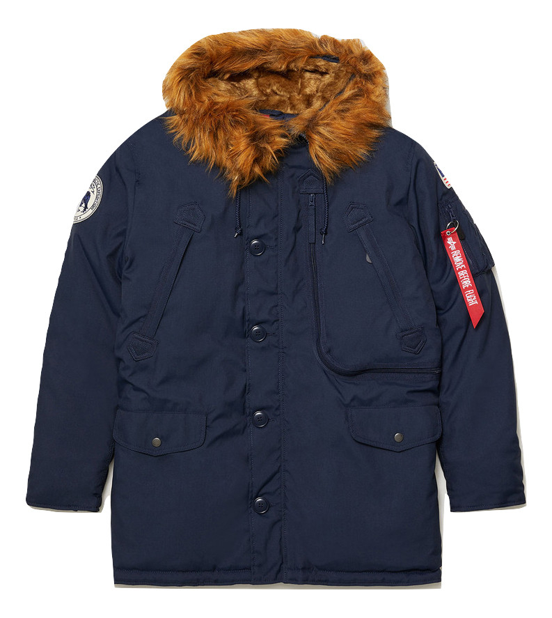 Aляска Alpine Parka Replica blue