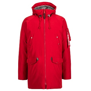 N3B Down Parka Red