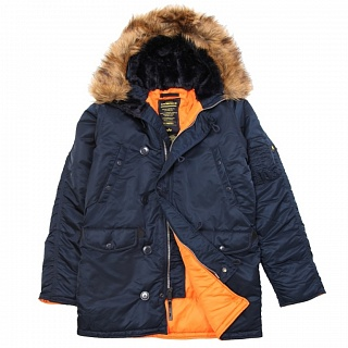 Slim Fit N-3B Parka rep.blue