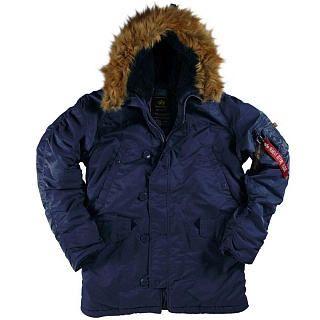 N-3B Parka Rep.blue
