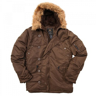 N-3B Parka Coyote brown