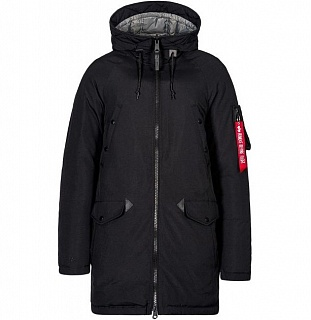 N3B Down Parka Black