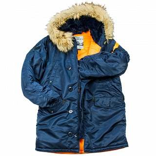АЛЯСКА HUSKY Denali Rep.blue/orange